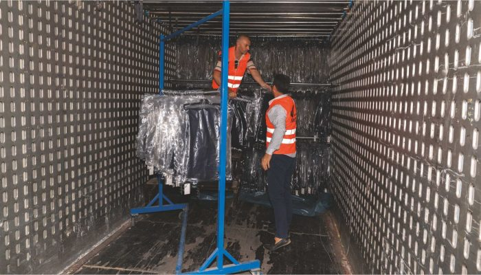 3 - Askılı Tekstil Taşıma Hizmetleri